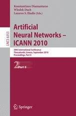 Artificial Neural Networks – ICANN 2010