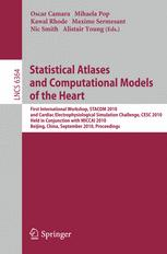 Statistical Atlases and Computational Models of the Heart