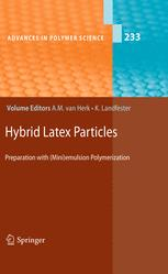 Hybrid Latex Particles