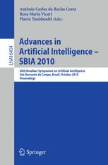 Advances in Artificial Intelligence – SBIA 2010