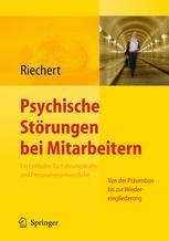 Psychische Störungen bei Mitarbeitern