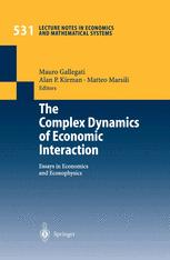 The Complex Dynamics of Economic Interaction