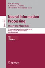 Neural Information Processing. Theory and Algorithms