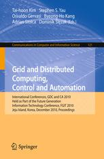 Grid and Distributed Computing, Control and Automation