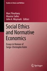 Social Ethics and Normative Economics