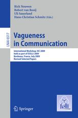 Vagueness in Communication