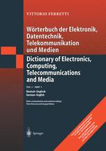 Wörterbuch der Elektronik, Datentechnik, Telekommunikation und Medien / Dictionary of Electronics, Computing, Telecommunications and Media