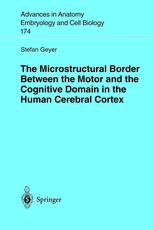 The Microstructural Border Between the Motor and the Cognitive Domain in the Human Cerebral Cortex