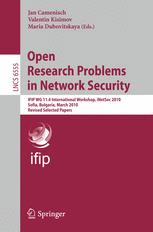 Open Research Problems in Network Security