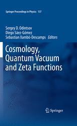 Cosmology, Quantum Vacuum and Zeta Functions