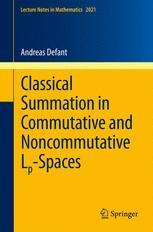 Classical Summation in Commutative and Noncommutative L<sub>p</sub>-Spaces