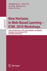 New Horizons in Web-Based Learning - ICWL 2010 Workshops