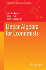 Linear Algebra for Economists