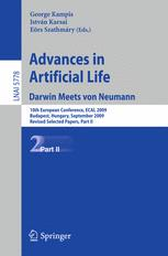 Advances in Artificial Life. Darwin Meets von Neumann