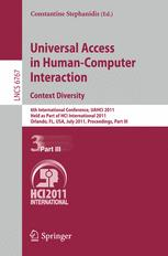 Universal Access in Human-Computer Interaction. Context Diversity