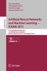 Artificial Neural Networks and Machine Learning – ICANN 2011