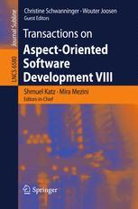 Transactions on Aspect-Oriented Software Development VIII
