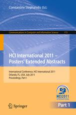 HCI International 2011 – Posters' Extended Abstracts