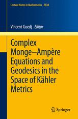 Complex Monge–Ampère Equations and Geodesics in the Space of Kähler Metrics