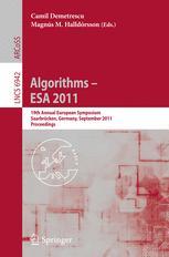 Algorithms – ESA 2011