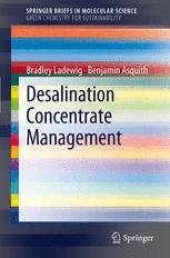 Desalination Concentrate Management