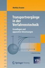 Transportvorgänge in der Verfahrenstechnik