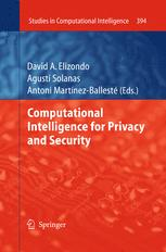 Computational Intelligence for Privacy and Security