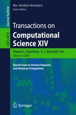 Transactions on Computational Science XIV