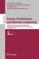 Swarm, Evolutionary, and Memetic Computing