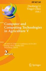 Computer and Computing Technologies in Agriculture V