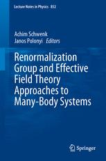 Renormalization Group and Effective Field Theory Approaches to Many-Body Systems