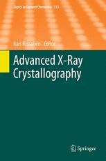 Advanced X-Ray Crystallography