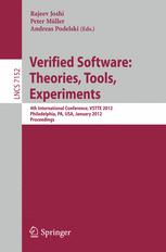 Verified Software: Theories, Tools, Experiments