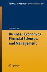 Business, Economics, Financial Sciences, and Management