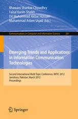 Emerging Trends and Applications in Information Communication Technologies