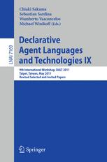 Declarative Agent Languages and Technologies IX