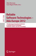 Reliable Software Technologies – Ada-Europe 2012