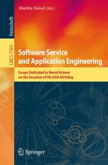 Software Service and Application Engineering