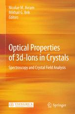 Optical Properties of 3d-Ions in Crystals: Spectroscopy and Crystal Field Analysis