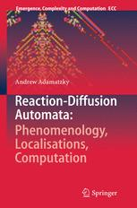 Reaction-Diffusion Automata: Phenomenology, Localisations, Computation