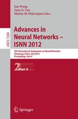 Advances in Neural Networks – ISNN 2012