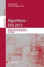 Algorithms – ESA 2012