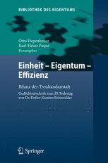 Einheit - Eigentum - Effizienz