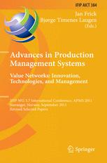 Advances in Production Management Systems. Value Networks: Innovation, Technologies, and Management
