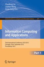Information Computing and Applications