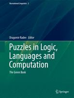 Puzzles in Logic, Languages and Computation