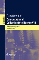 Transactions on Computational Collective Intelligence VIII