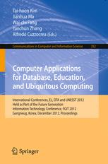 Computer Applications for Database, Education, and Ubiquitous Computing