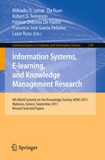 Information Systems, E-learning, and Knowledge Management Research
