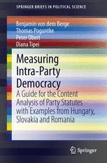 Measuring Intra-Party Democracy